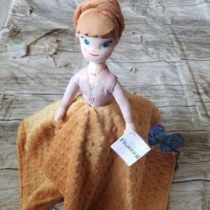 Lovely Frozen 2 Anna Plush Security Blanket